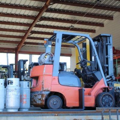 Atlanta Forklift equipment rental Kalmar